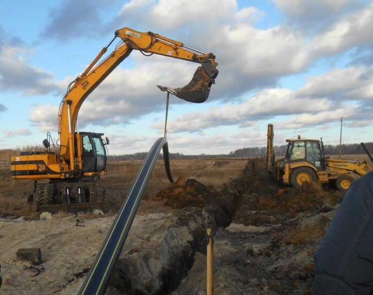 Завершение строительства газопровода в селе Шестаково